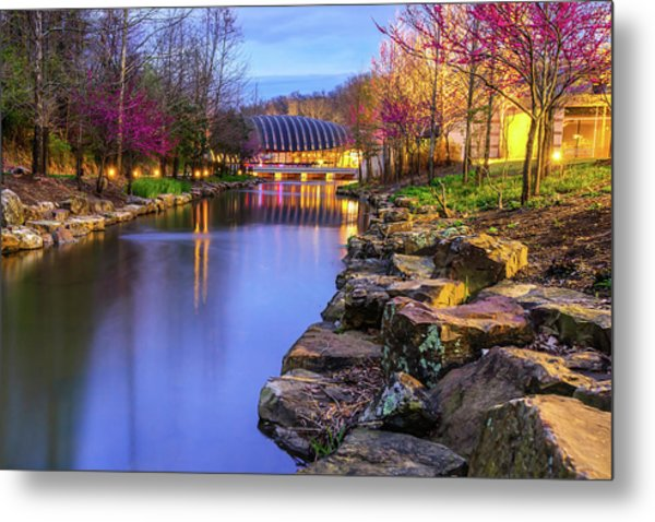 Metal Print featuring the photograph Colors Of Spring At Crystal Bridges Museum Of Art - Arkansas by Gregory Ballos