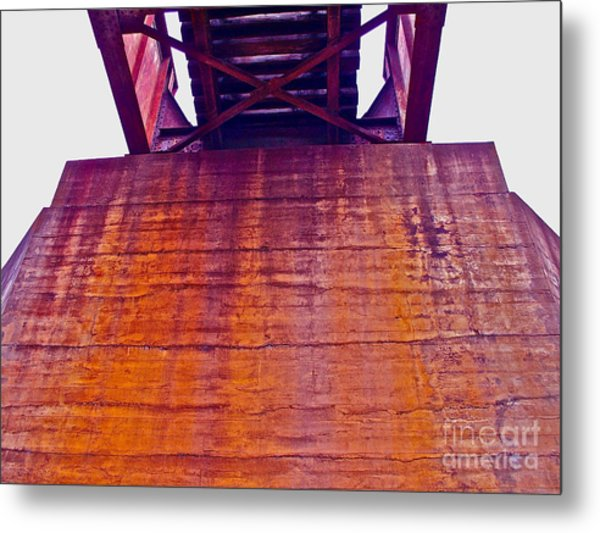 Colors Of Time Metal Print by Chuck Taylor