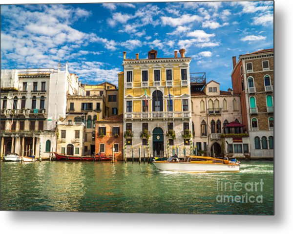 Colors Of Venice - Italy Metal Print