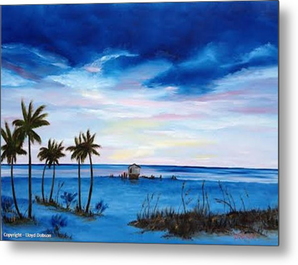 Colors On The Gulf Metal Print
