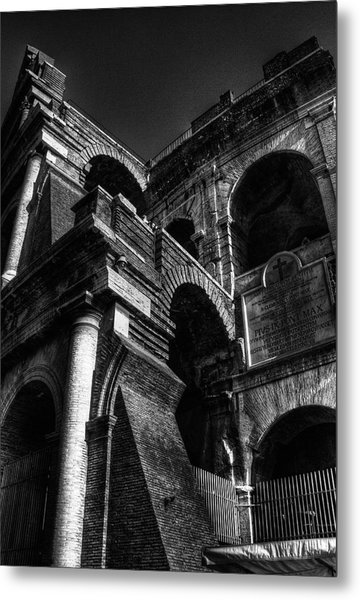 Coloseo 3 Metal Print by Brian Thomson