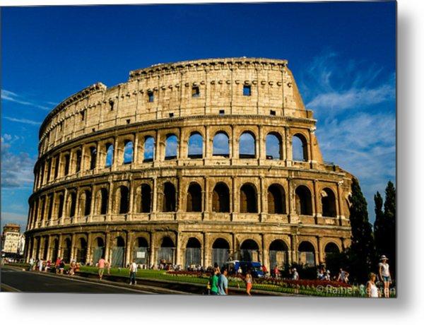 Colosseo Roma Metal Print