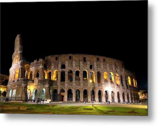 Colosseum Metal Print by Nikos Stavrakas