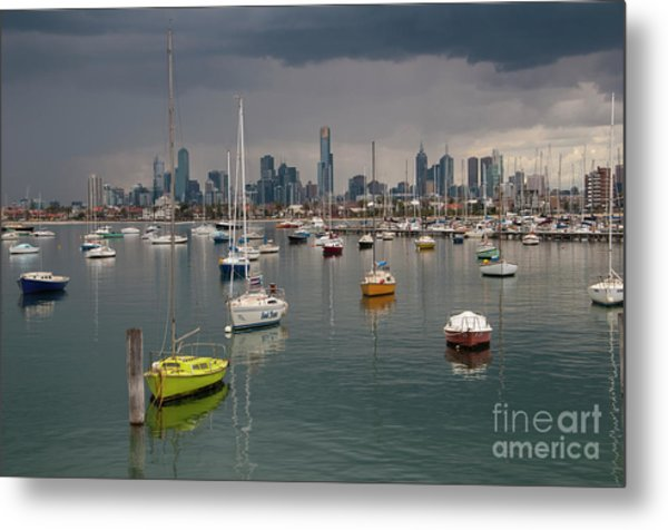 Colour Of Melbourne 2 Metal Print