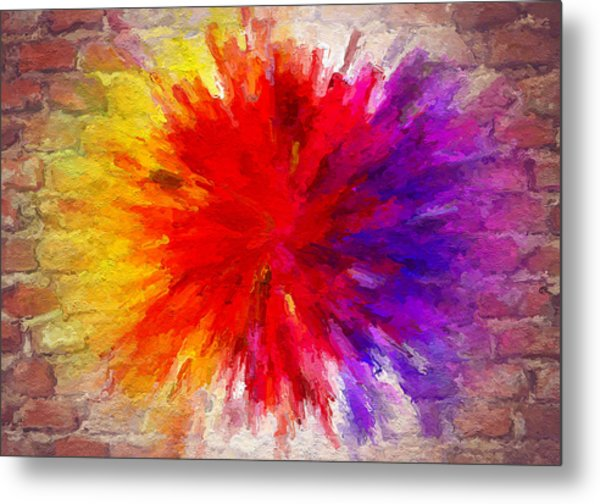 Colour To Lift Your Soul Metal Print