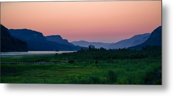 Columbia Gorge Metal Print