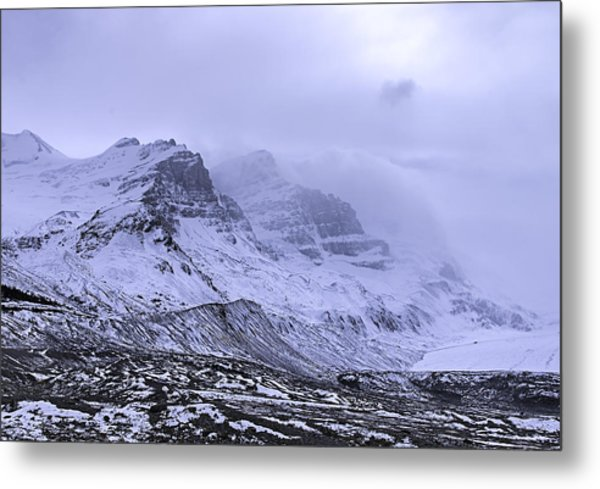Metal Print featuring the photograph Columbia Ice Fields by John Gilbert
