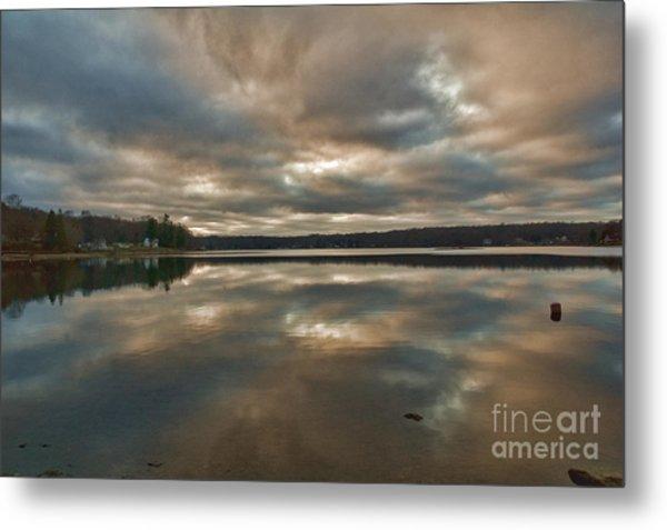 Columbia Lake Metal Print