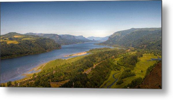 Columbia River Gorge  Metal Print by Drew Castelhano