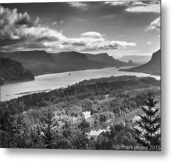 Columbia River Gourge Metal Print