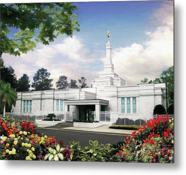 Columbia South Carolina Temple Metal Print by Brent Borup