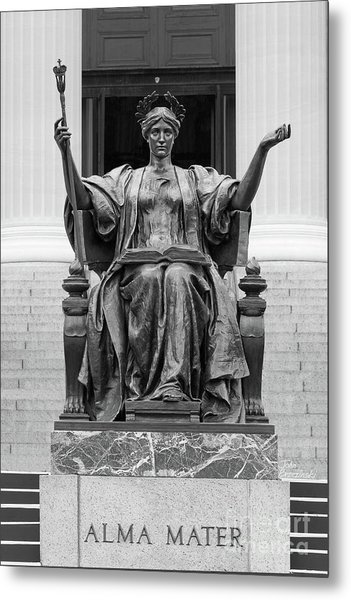 Columbia University Alma Mater Metal Print
