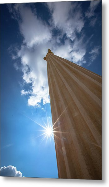 Column To Sky Metal Print