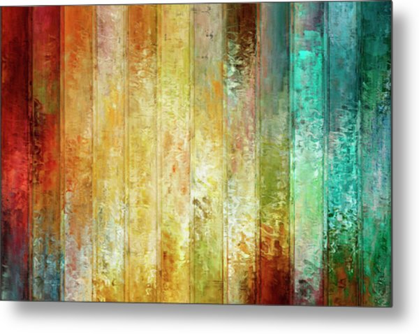 Come A Little Closer - Abstract Art Metal Print