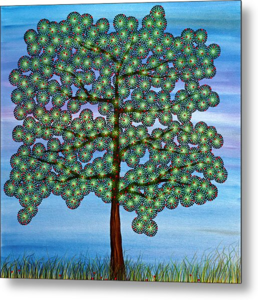 Come Climb My Branches Metal Print