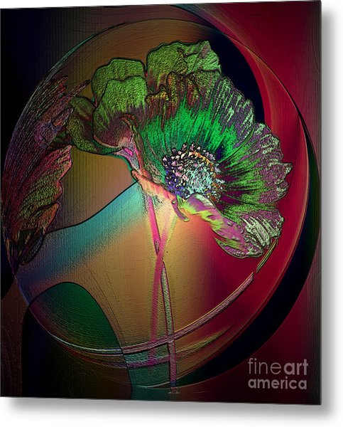 Comely Cosmos Metal Print