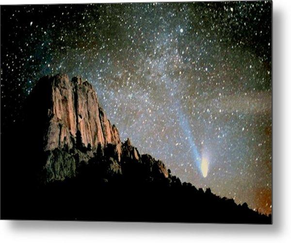 Comet Hale-bopp Metal Print