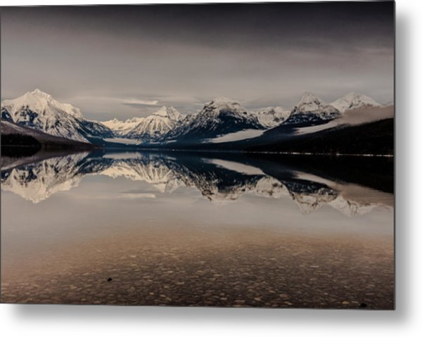Lake Mcdonald Glacier National Park Metal Print