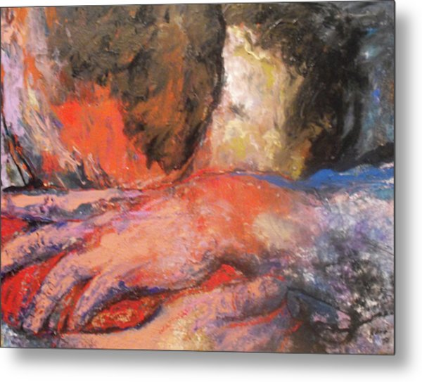 Comforting Embrace Metal Print