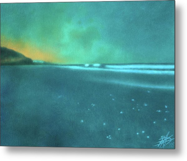 Luminescence At Torrey Pines Metal Print by Robin Street-Morris