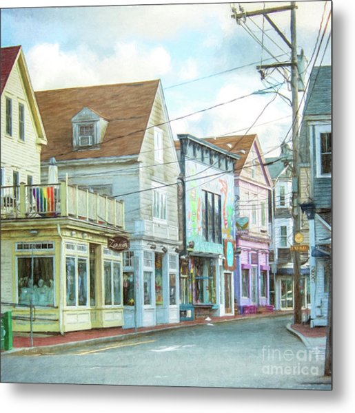 Commercial St #1 Metal Print