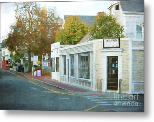 Commercial St. #2 Metal Print