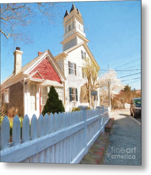 Commercial St. #3 Metal Print