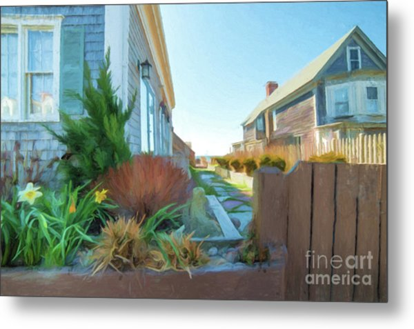 Commercial St. #4 Metal Print