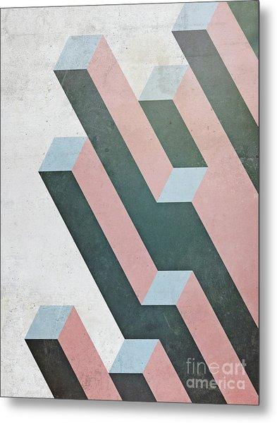 Complex Geometry Metal Print