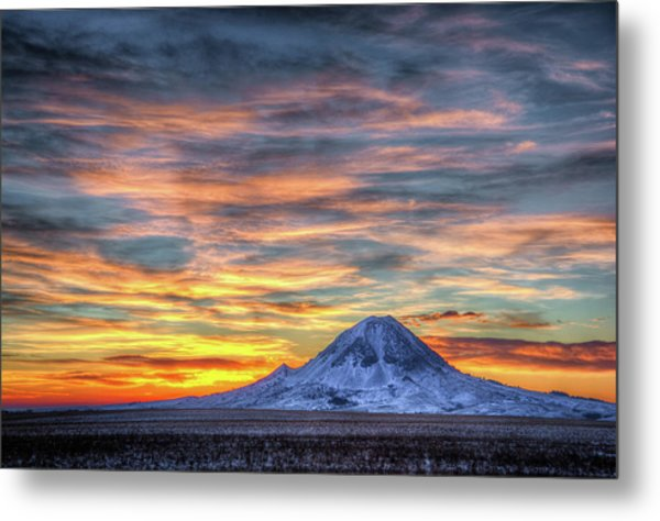 Complicated Sunrise Metal Print