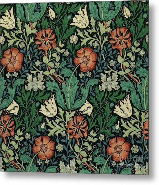 Metal Print featuring the painting Compton by William Morris