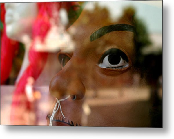 Concerned Thats All Metal Print by Jez C Self