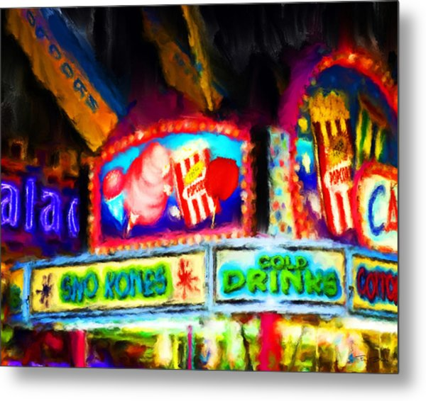 Concession Stand Metal Print