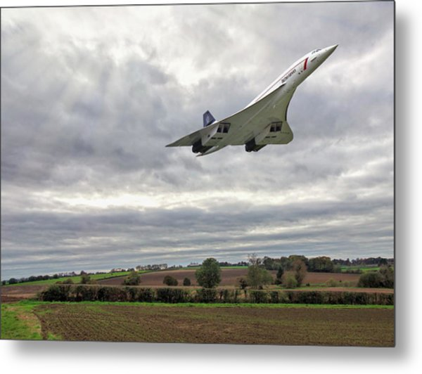 Concorde - High Speed Pass Metal Print