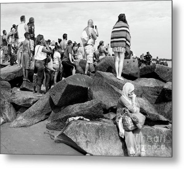 Coney Island, New York  #234972 Metal Print