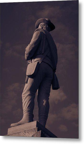 Confederate Statue Metal Print