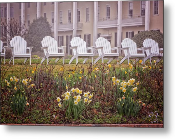 Congress Hall Spring Metal Print