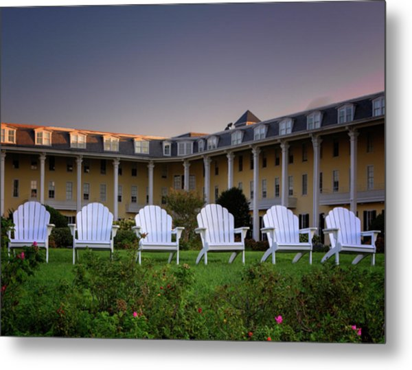 Congress Hall Metal Print
