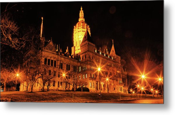 Connecticut State Capitol Metal Print