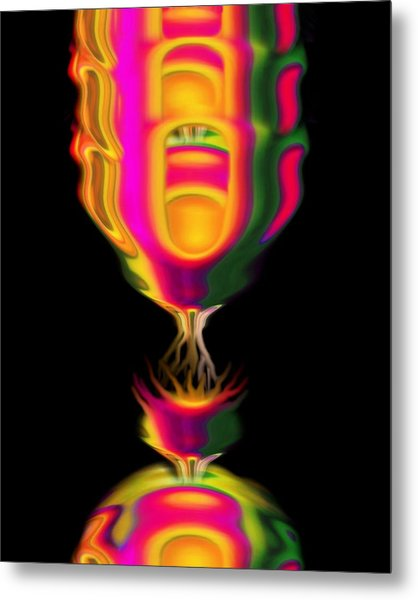 Connection  Metal Print by Jacqueline Migell