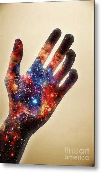 Conscious Creator In Awakening Metal Print