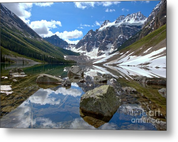 Consolation Lakes Reflections Metal Print