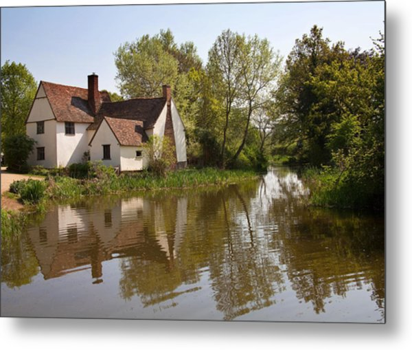Constable Country The Hay Wain Metal Print