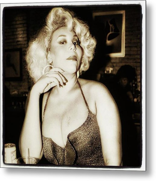Metal Print featuring the photograph Consuela Del Rio. Drag Mother At The by Mr Photojimsf