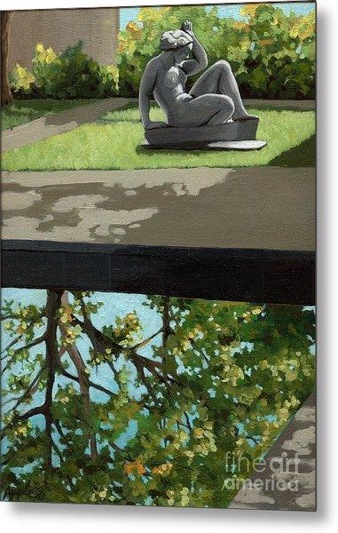 Contemplation Metal Print by Linda Apple