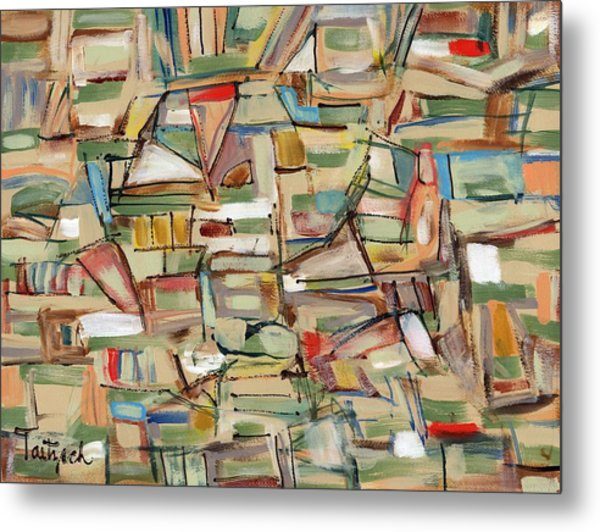 Contemporary Art Forty-eight Metal Print
