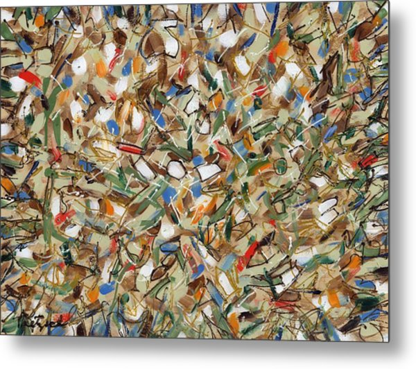 Contemporary Art Forty-seven Metal Print