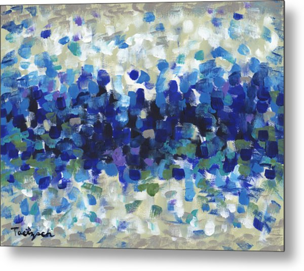 Contemporary Art Forty-three Metal Print