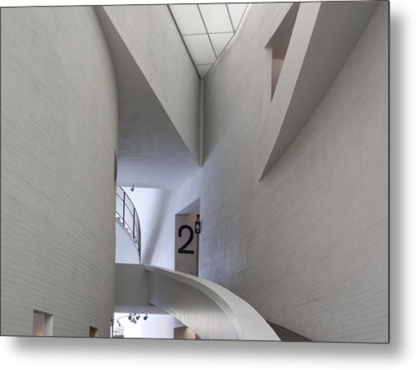 Contemporary Art Museum Interior Metal Print