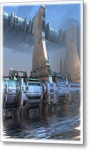 Control Tower Metal Print
